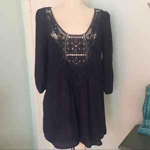 NWOT Navy Peppermint Dress or Tunic Size Med